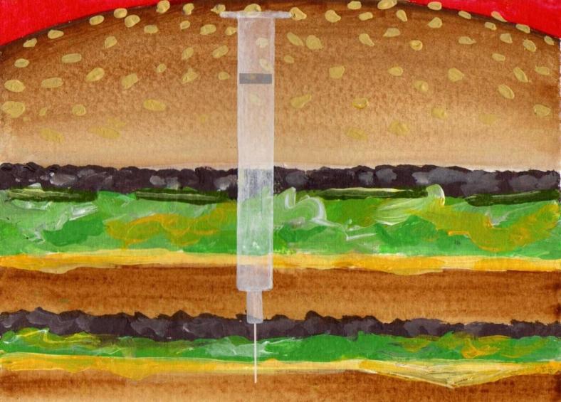 Esto no es una hamburguesa - internet
