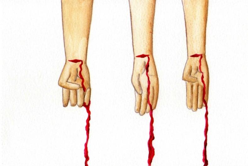 Tres suicidios - internet