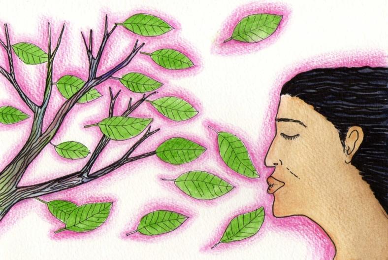 Besando árboles_8 años - internet