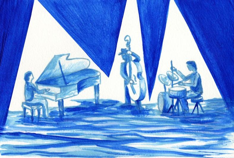 El mar de la ría de Arousa suena y sabe a jazz pagano - internet