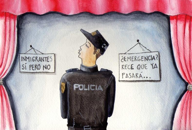 La poli - internet