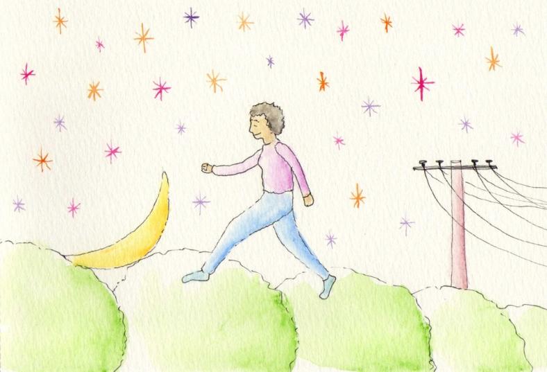 Soledad corriendo todas las mañanas - internet