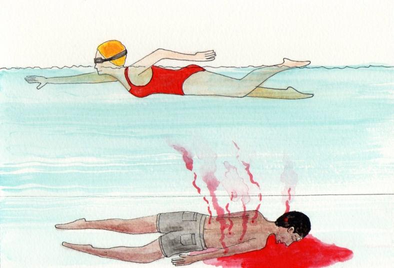 Olimpiadas en Río de sangre - internet