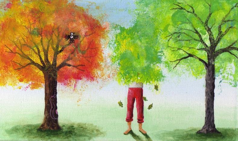 Shinrin-yoku_baño de bosque y Besos de árbol